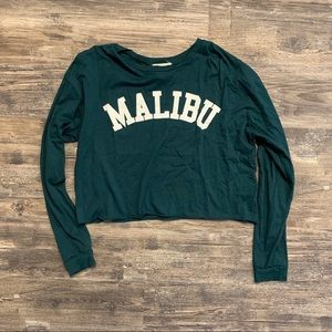 French Pastry Malibu Crop Top